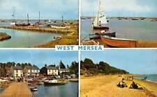 West Mersea, Yachting The Beach The Causeway The Moorings Boats
