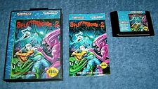 * SPLATTERHOUSE 2 *- 100% ORIGINAL SEGA GENESIS - COMPLETE - NTSC VERSION - RARE