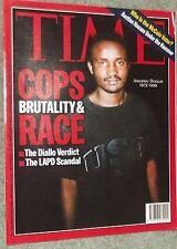 Time Magazine Cops Brutaliy & Race Amadou Diallo Cover Australian Edition 2000