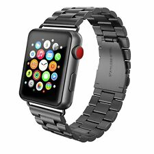 Stainless Steel iWatch Band 42mm Apple Watch Series 3/2/1 Nike Sport Space Gray