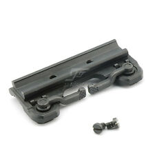JJ Airsoft throw lever QD Mount for ACOG Scope&Red Dot Series (Black)
