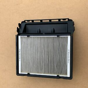 genuine mercedes cabin air intake scoop with dust filter A2058308802