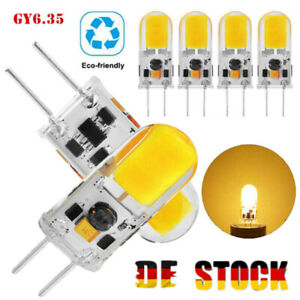 4/12×GY6.35 LED COB Dimmbar Birne Leuchtmittel Hohe Helligkeit Glühbirne ACDC12V
