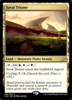 Magic the Gathering (mtg): Ikoria: Savai Triome - Rare
