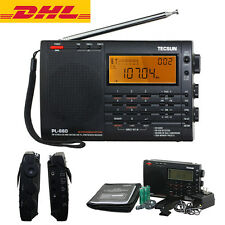 Tecsun PL660 FM SW Stereo Air band SSB PLL Dual World Receiver Portable Radio
