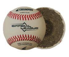 Champro Dozen Pack (12) CBB-200D Official League, Full Grain Leather Baseballs