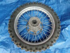 "Yamaha YZ250 WR250 19"" Rear Wheel Rim Hub *HAS NO BRAKE DISC* 1988 1989"