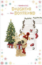 Boofle Daughter & Her Boyfriend Christmas Greeting Card Cute Xmas Cards
