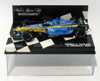 Minichamps 1/43 Scale Diecast 400 050006 Renault F1 Team R25 G. Fisichella 2005
