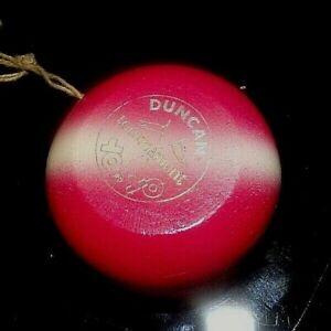 Vintage DUNCAN Wood Tournament Yo Yo