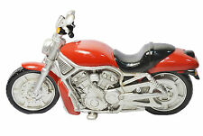 VINTAGE HARLEY MOTO a LED Lampada da tavolo-Rosso 29cm x 10cm x 16cm Regalo