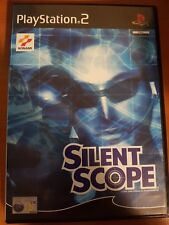 SILENT SCOPE - PLAYSTATION 2 PS2 USATO