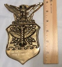 Brass Plaque 320th Air Refueling Sqd 99th Bomb Wing