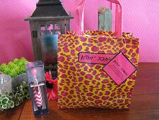 New Betsey Johnson Leopard Print Reusable Shopping Tote Bag w/ Free Bonus Pen!