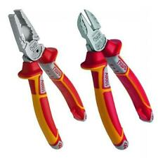 NWS 2 Piece VDE 1000v Wire Side Cutter, Combimax Combination Pliers Set,NW860-3K