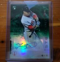 2014 Bowman Sterling Mookie Betts Green Refractor Auto RC Autograph Rookie /125