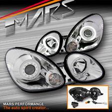 JDM Crystal CCFL Angel-Eyes Projector Head Lights for Lexus GS300 98-05 JZS160R