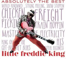 LITTLE FREDDIE KING - ABSOLUTELY THE BEST NEW CD