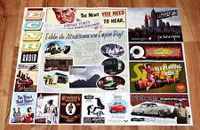 Mafia 2 II Empire Bay Rare Poster / Map / Ad Poster 69x44cm PS3 Xbox 360