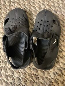 Nike Size 8c Sunray Protect 2 (TD) Toddler Sandal Shoes 953827-001