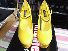 BNWB Nitelife Chloe Yellow Platforms UK 6