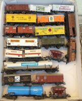 Fleischmann, Roco, Lima, H0 Konvolut 18 Stück Güterwagen Epoche 3-4 gebraucht