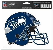 "Seattle Seahawks 5""x6"" 5x6 Ultra Decal Window Laptap Car Truck Auto Multi Use"