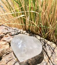 Crystal Quartz Heart