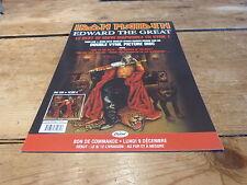 IRON MAIDEN - Plan média / Press kit !!! EDWARD THE GREAT !!!