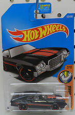 72 FORD GRAN TORINO SPORT REDLINES 122 BLACK FLAMES MUSCLE 2 2016 HW HOT WHEELS