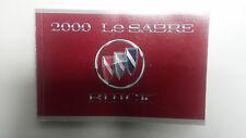 Original 2000 Buick Le Sabre Betriebsanleitung Bedienungsanleitung in Englisch