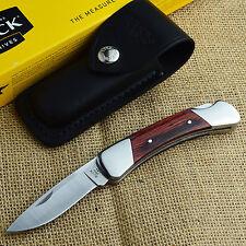 Buck Knives Duke Rosewood Dymondwood Handle 420HC Lockback Knife 500RWS