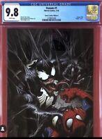 Marvel 2018 Venom #1 CGC 9.8 Sonny's Comics Virgin Variant Mark Bagley NM Cates