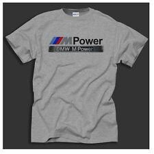 BMW M Potencia Motorsport E30 E39 E60 y 320i Gris Retro Regalo T-Shirt