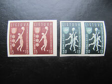 Lithuania. Basketball 1939 Mi 429-430 MNH unperforated x2