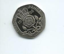 1998 Royal Mint Proof  20p  coin  taken from Royal Mint proof Set