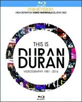 Duran Duran This Is Videography 1981-2016 Blu-ray 2 Discs Case Set Primevision