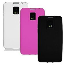 3-pack Silicone Skin Case for LG G2X P999 - Black, Pink, White