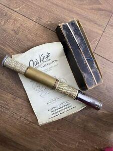 Vintage Otis King's Pocket Calculator Slide Rule 423/414. R1440 Box+Instructions