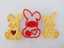 Formina coniglio Pasqua formine per biscotti cookie cutters tagliapasta