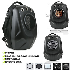 Pet Carrier Backpack Cat Dog Portable Travel Breathable Space Capsule Carrier