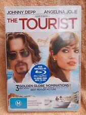 THE TOURIST JOHNNY DEPP ANGELINA JOLIE DVD M R4