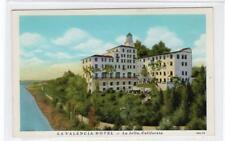 LA VALENCIA HOTEL, LA JOLLA: California USA postcard (C30183)