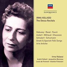 Irma Kolassi - Irma Kolassi: Decca Recitals [New CD] Australia - Import