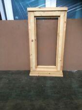 Brand New Clear Glazed  Glazed Timber Window 483mmx895mm unfinished