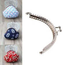 8.5cm 1pc Metal Coin Purse Bag DIY Craft Frame Kiss Clasp Lock Accessories