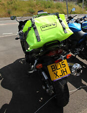 Spada Motorbike Motorcycle Waterproof 30 Litre Dry Bag With Carry Straps - Fluo