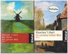 Hart, Maarten 't: Das Wüten der ganzen Welt + In unnütz toller Wut - 2 Bände