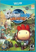 Scribblenauts Unlimited (Nintendo Wii U, 2012)