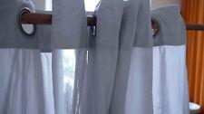 Moderne Gardinen & Vorhänge Konfektionsware aus 100% Baumwolle